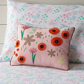 Cute Kids Pillows Theyll Love To Cuddle Crate And Barrel