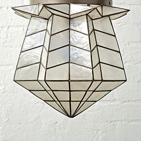 Genevieve Gorder Star Ceiling Light Crate And Barrel