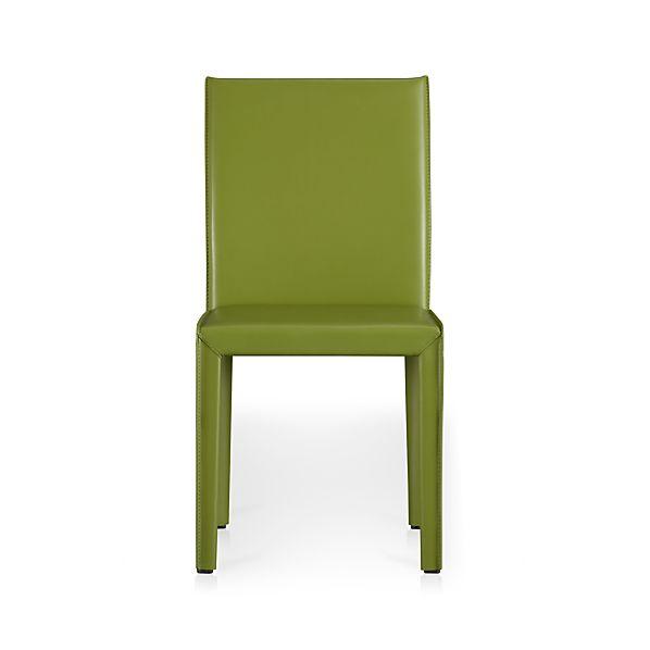 Folio Kiwi Bonded Leather Side Chair
