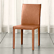 Excellent Leather Dining Chairs Crate And Barrel Machost Co Dining Chair Design Ideas Machostcouk