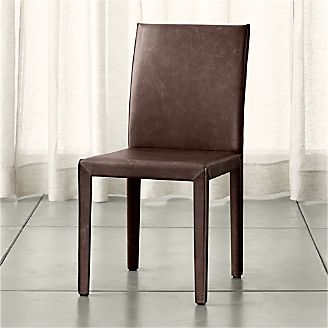 Folio Saddle Top Grain Leather Dining Chair