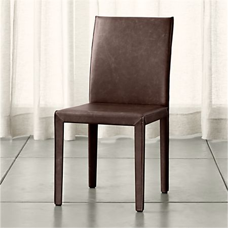Magnificent Folio Saddle Top Grain Leather Dining Chair Reviews Ibusinesslaw Wood Chair Design Ideas Ibusinesslaworg