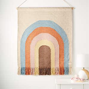Rainbow mini banner nursery decor wall hanging rainbow decor rainbow gift