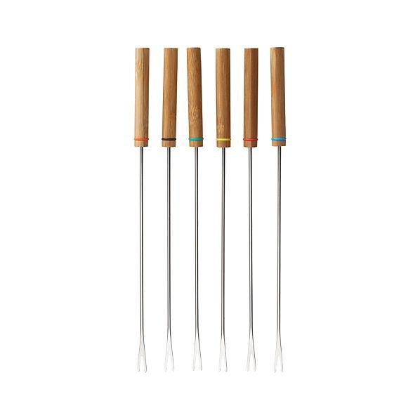 Set of 6 Fondue Forks