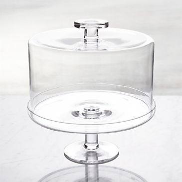 Footed Cake Stand with Dome