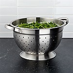 Footed Stainless Steel Colander