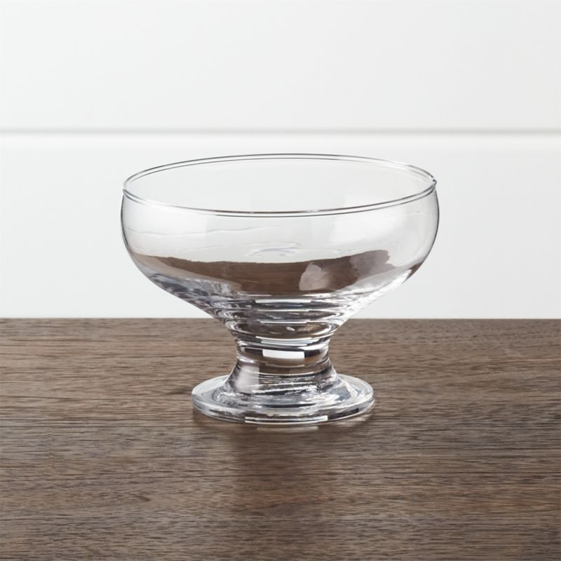 Footed 10 Oz Dessert Dish Reviews Crate And Barrel