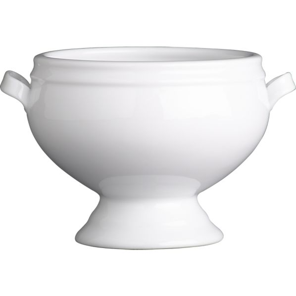 """Footed 4.5"""" Soup Bowl"""