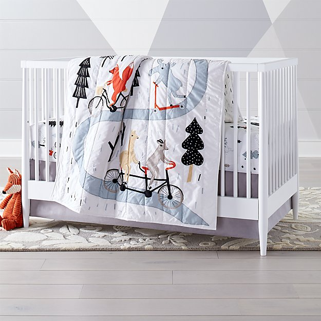 Forest Friends Crib Bedding Crate And Barrel