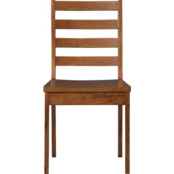 Form Walnut Side Chair