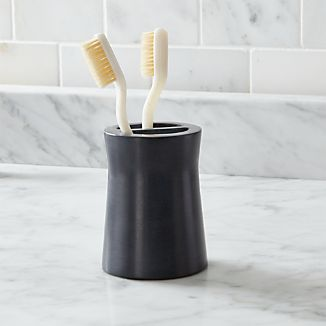 Forma Soapstone Toothbrush Holder