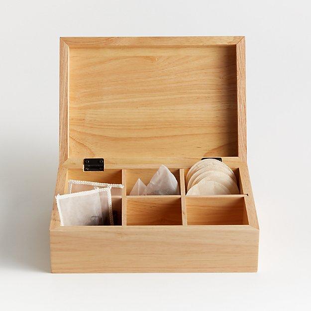 Fox Run Blonde Tea Box - Image 1 of 3