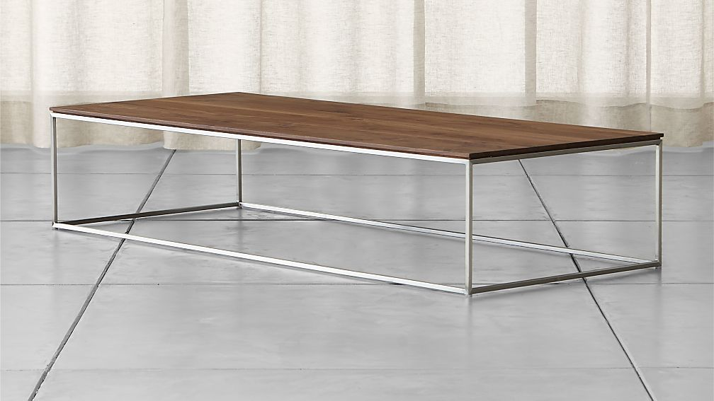 Crate And Barrel Coffee Table Wood