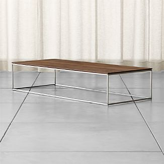Rectangular Coffee Tables Crate and Barrel