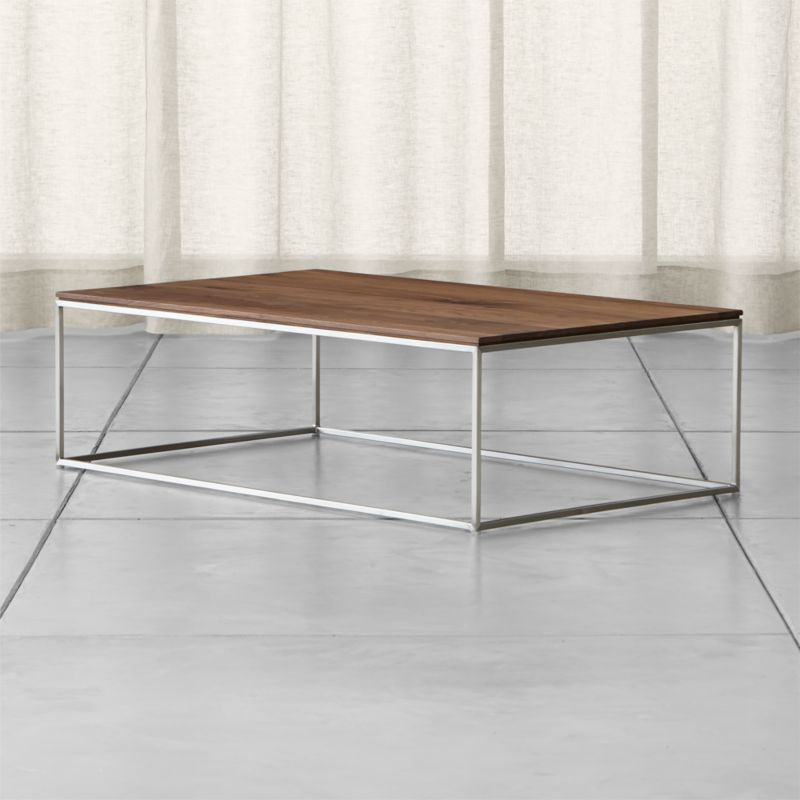 Frame Large Coffee Table + Reviews | Crate and Barrel