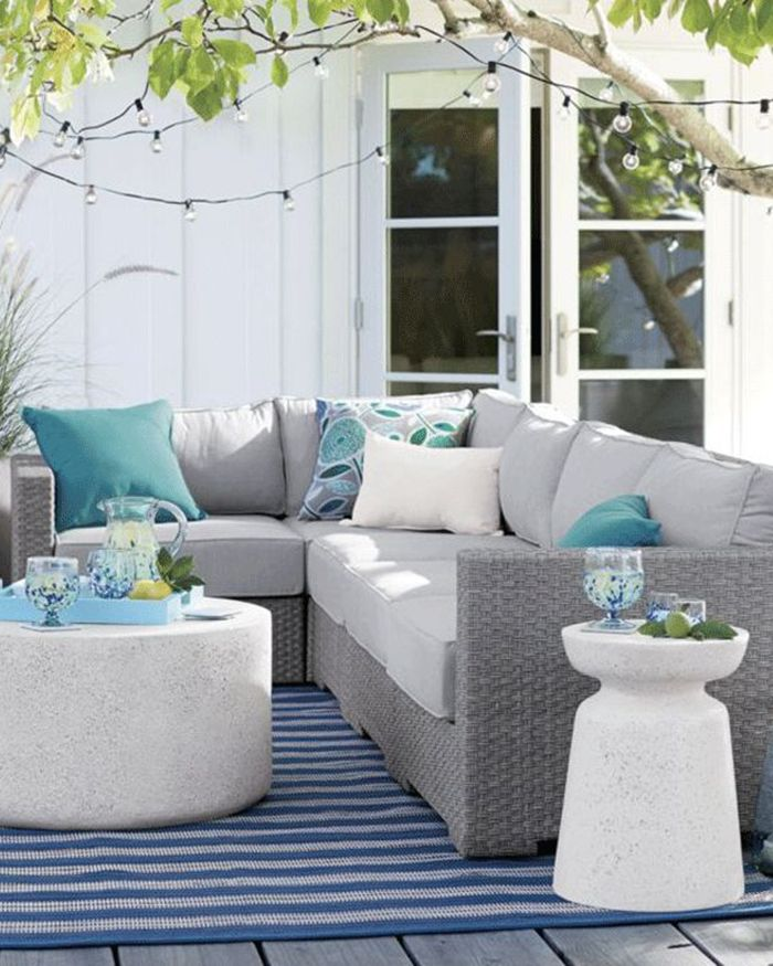 Outdoor Patio Furniture Decor Ideas
