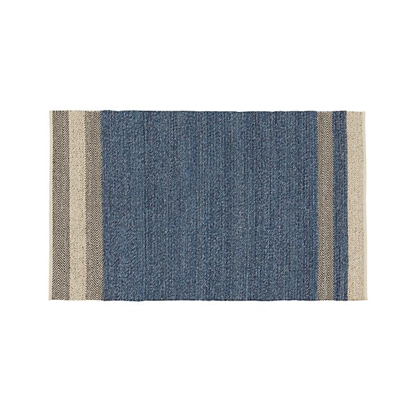 Fraser Blue 5'x8' Rug