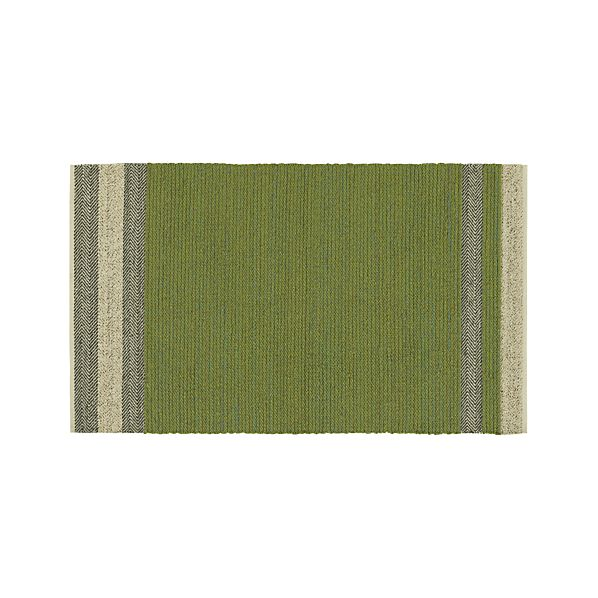Fraser Green 5'x8' Rug
