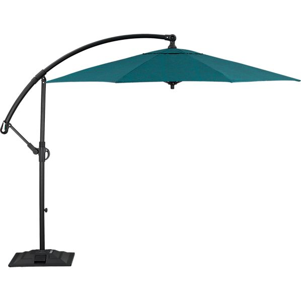 10' Round Juniper Free-Arm Umbrella with Base