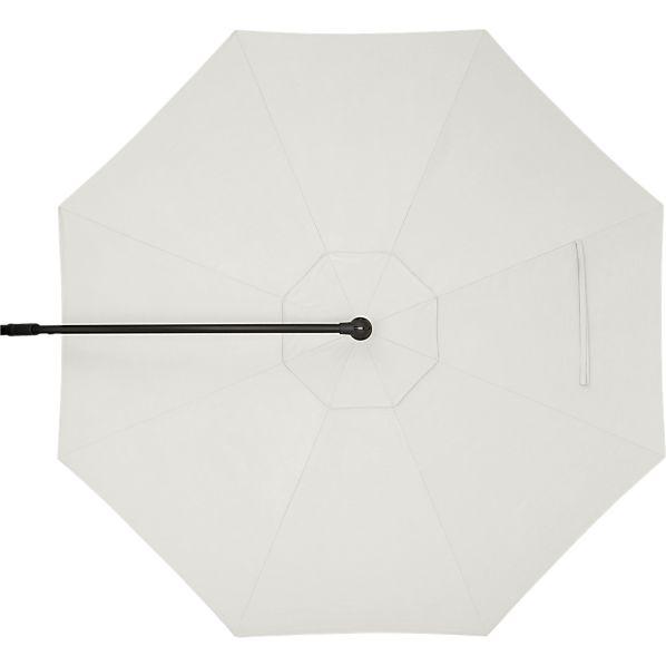 10' Round Sunbrella ® White Sand Free-Arm Umbrella Cover