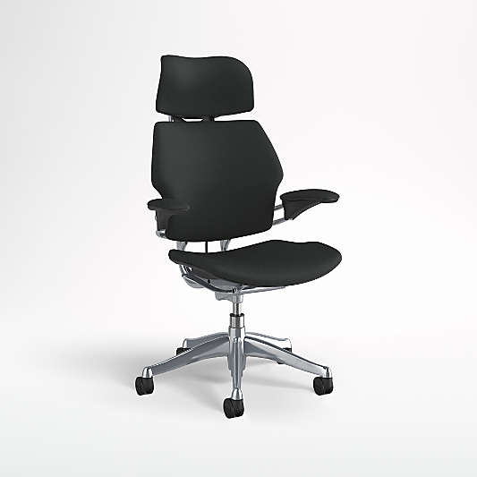 Humanscale ? Freedom ? Black Office Chair with Headrest