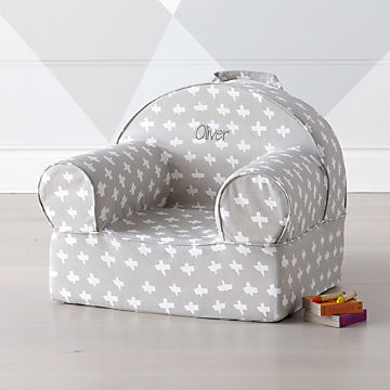 Pleasant Personalized Kids Armchairs The Nod Chair Crate And Barrel Short Links Chair Design For Home Short Linksinfo