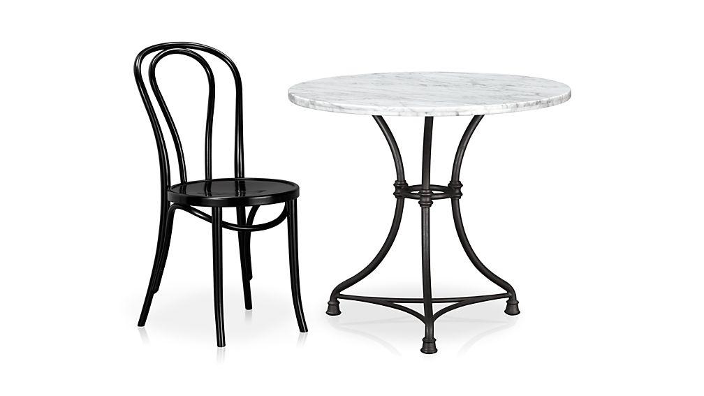 French Kitchen Round Bistro Table