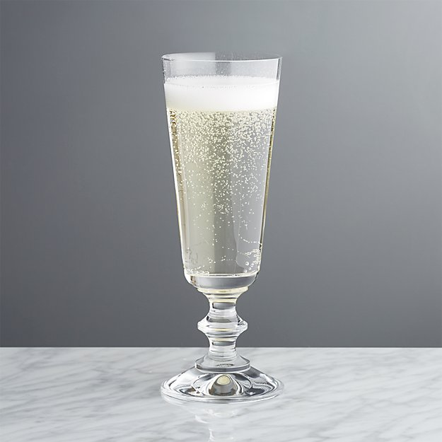French Champagne Glass