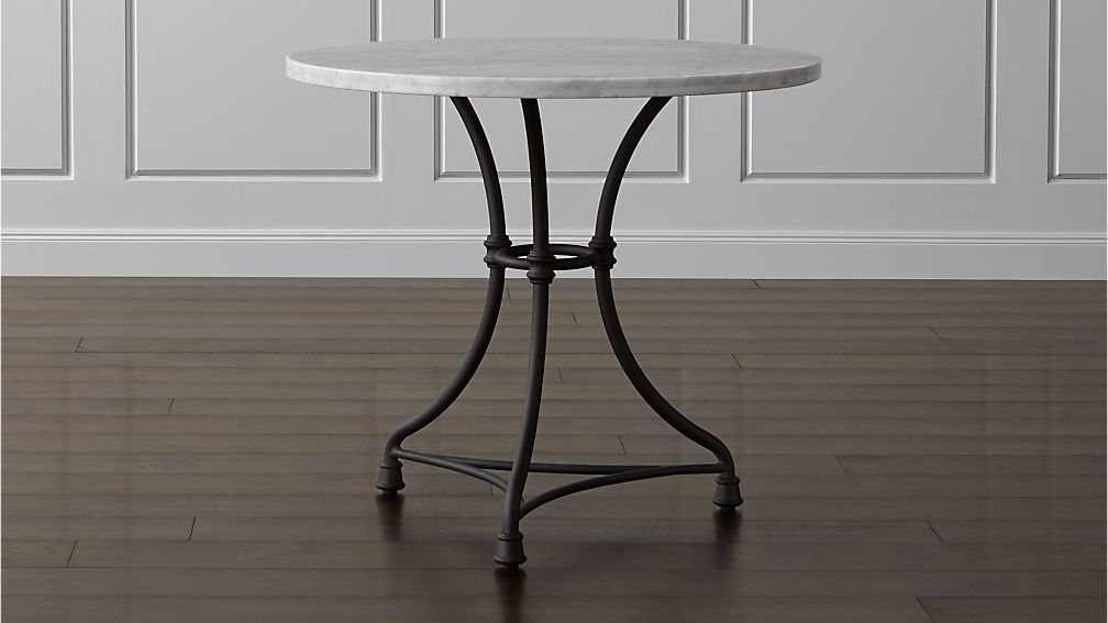 French Kitchen Round Bistro Table - Image 1 of 8