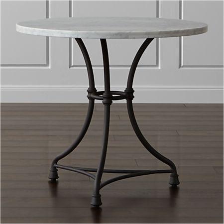 Enjoyable French Kitchen Round Bistro Table Best Image Libraries Weasiibadanjobscom