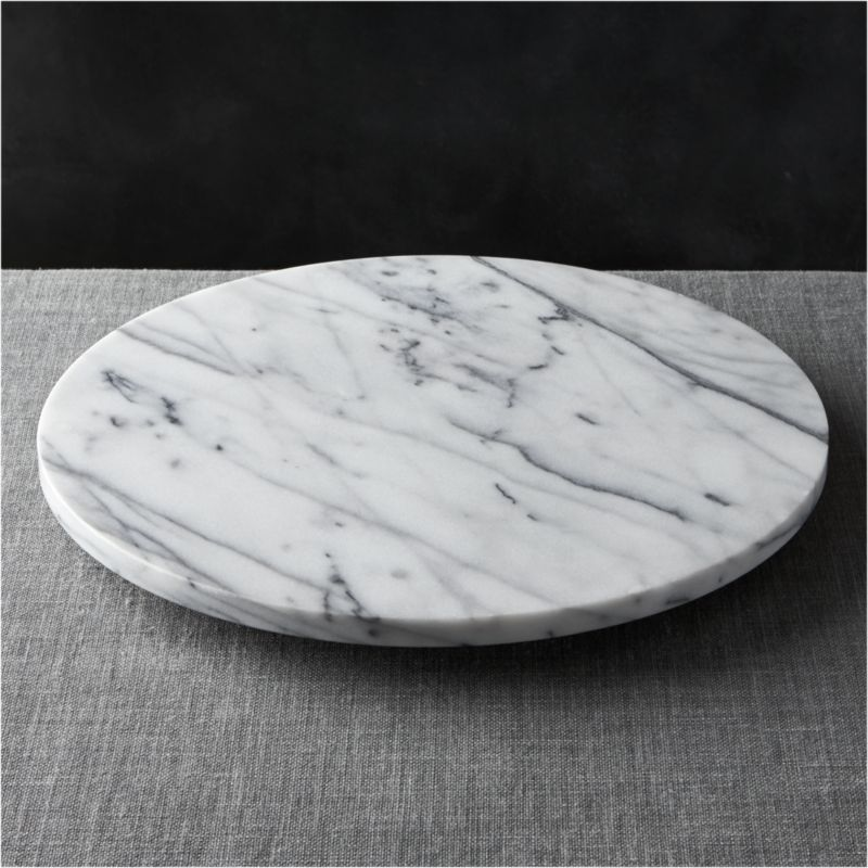 French Kitchen Marble Lazy Susan + Reviews