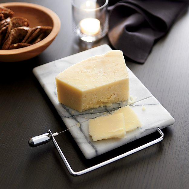 French Kitchen Marble Cheese Board With Slicer Reviews