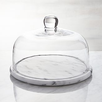 French Kitchen Marble Cheese Dome