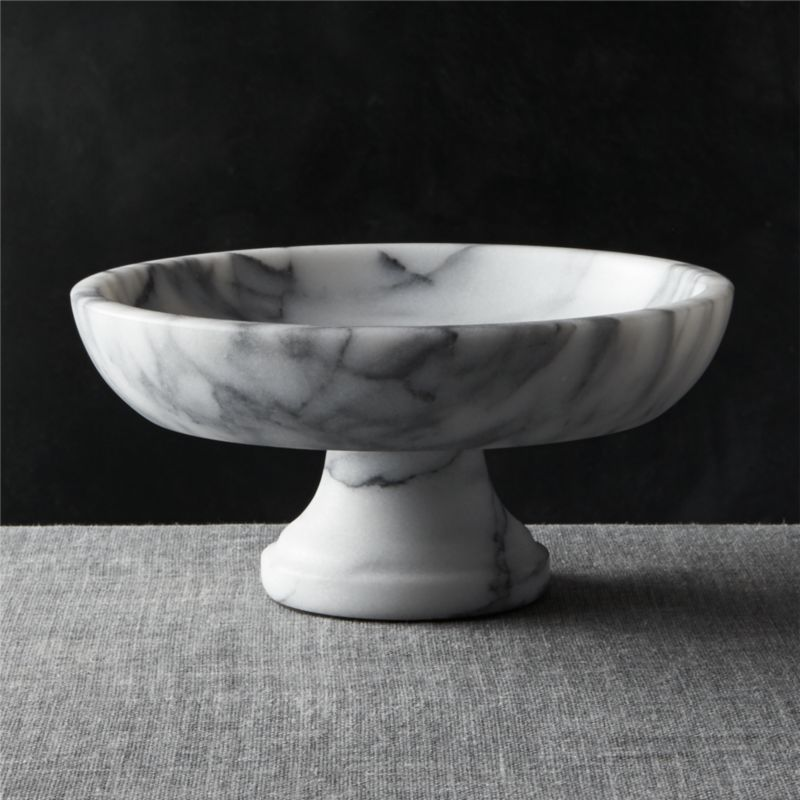 French Kitchen Marble Fruit Bowl + Reviews