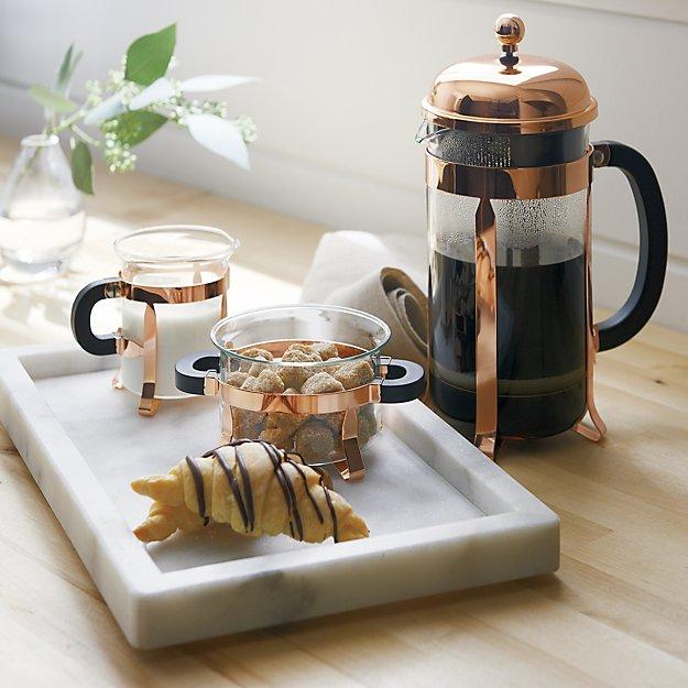 Bodum Copper Cream And Sugar Set In Coffee Amp Tea