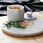 View product image French Kitchen Marble and Copper Trivet - image 2 of 7