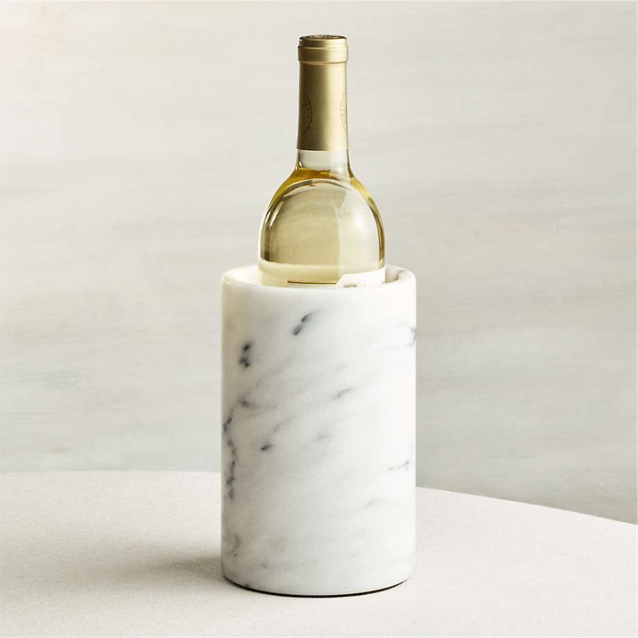 French Kitchen Marble Wine Cooler + Reviews | Crate and Barrel