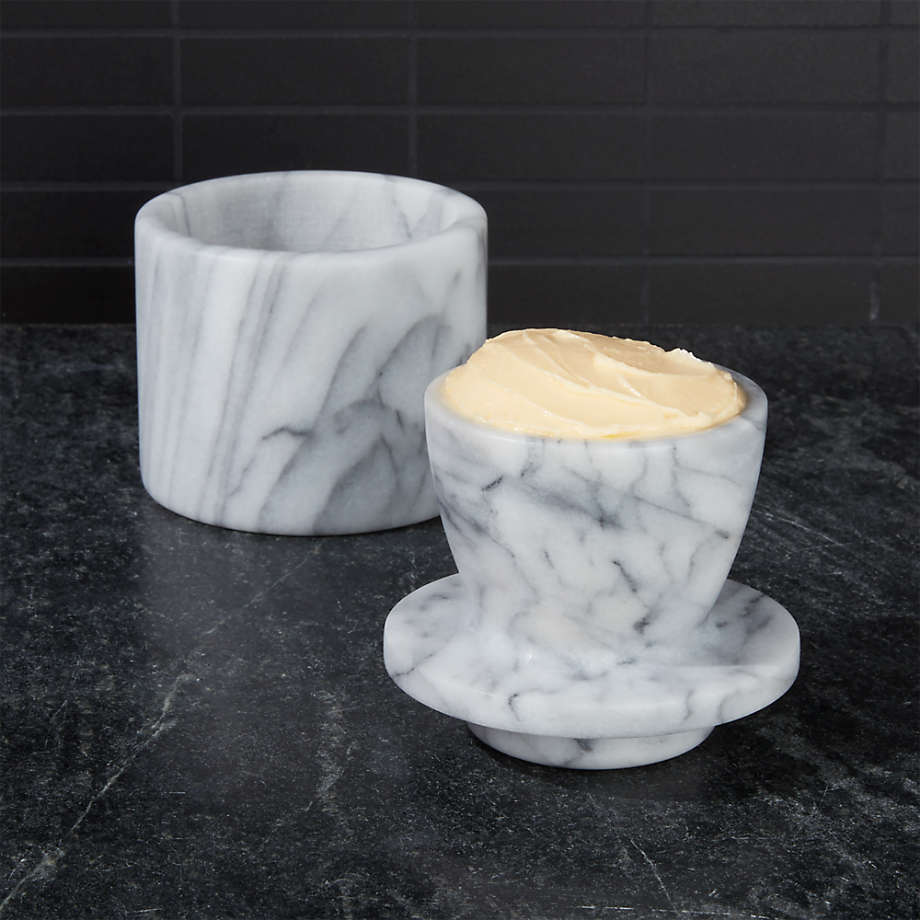 Viewing product image French Kitchen Marble Butter Keeper