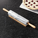 French Kitchen Marble Rolling Pin with Stand