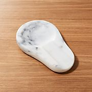 French Kitchen Marble Spoon Rest