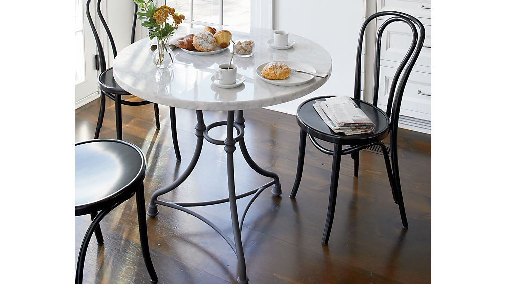 ... French Kitchen Round Bistro Table ...