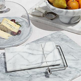 French Kitchen Marble Serveware