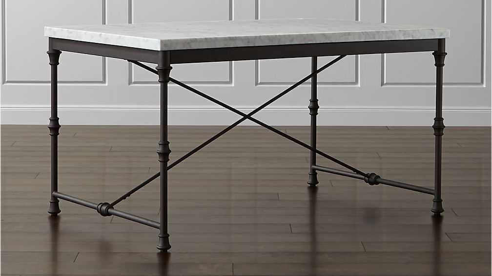 French Kitchen Table Reviews Crate And Barrel