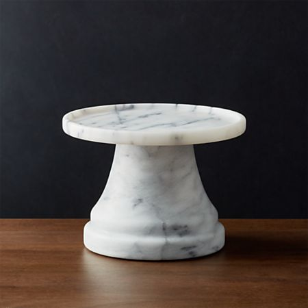French Kitchen Marble Drink Dispenser Stand + Reviews | Crate and Barrel