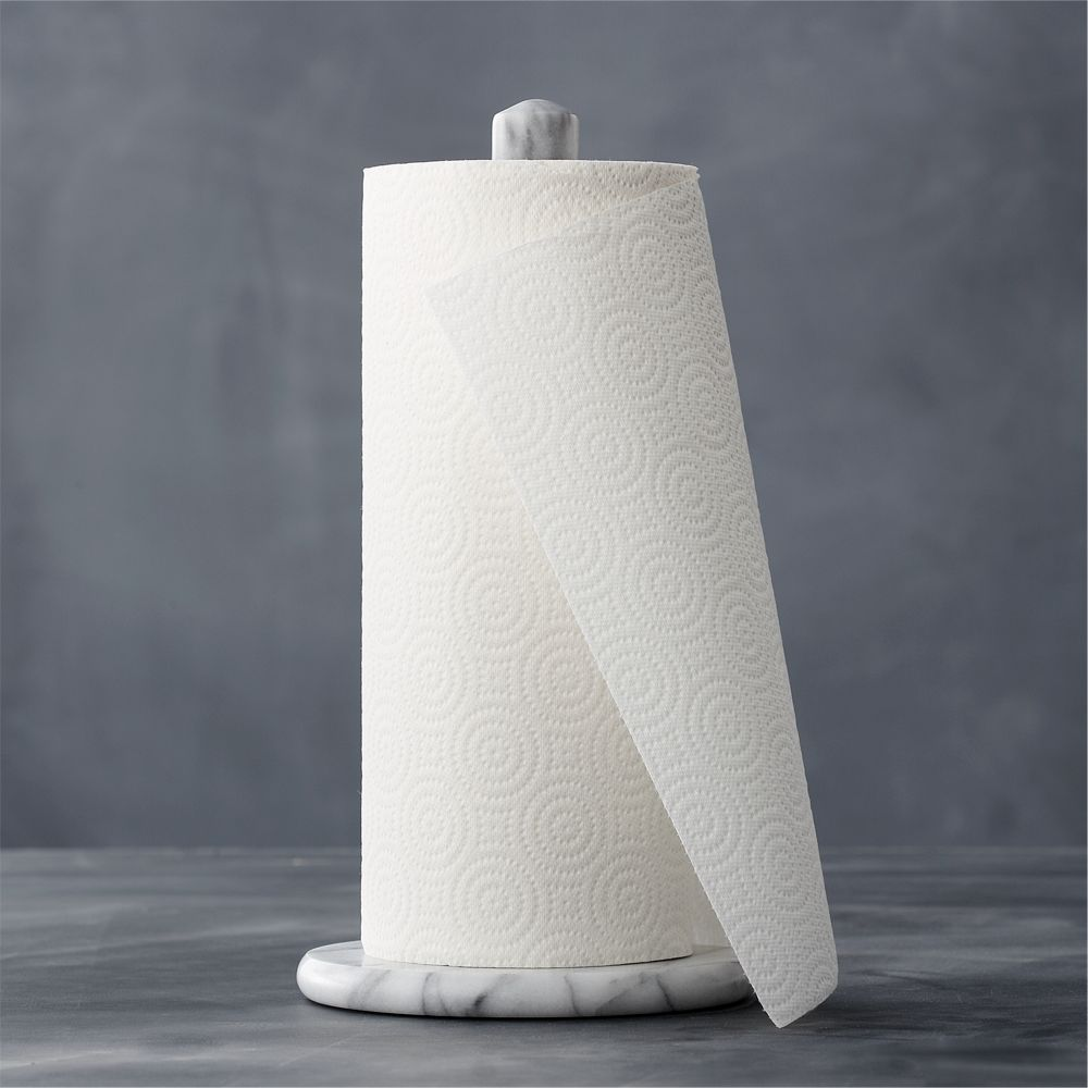 French Kitchen Marble Paper Towel Holder - Crate and Barrel