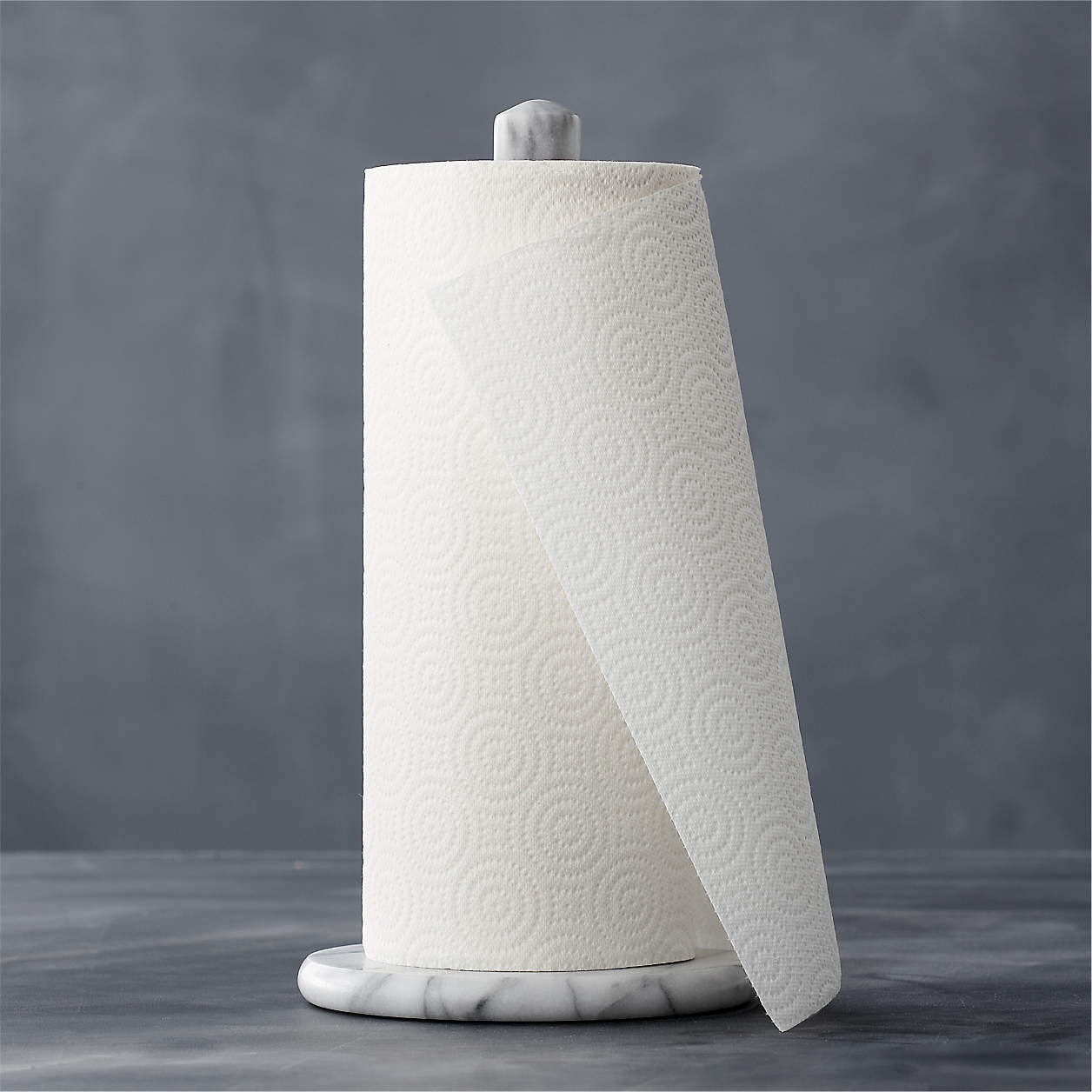 french kitchen marble paper towel holder  reviews  crate