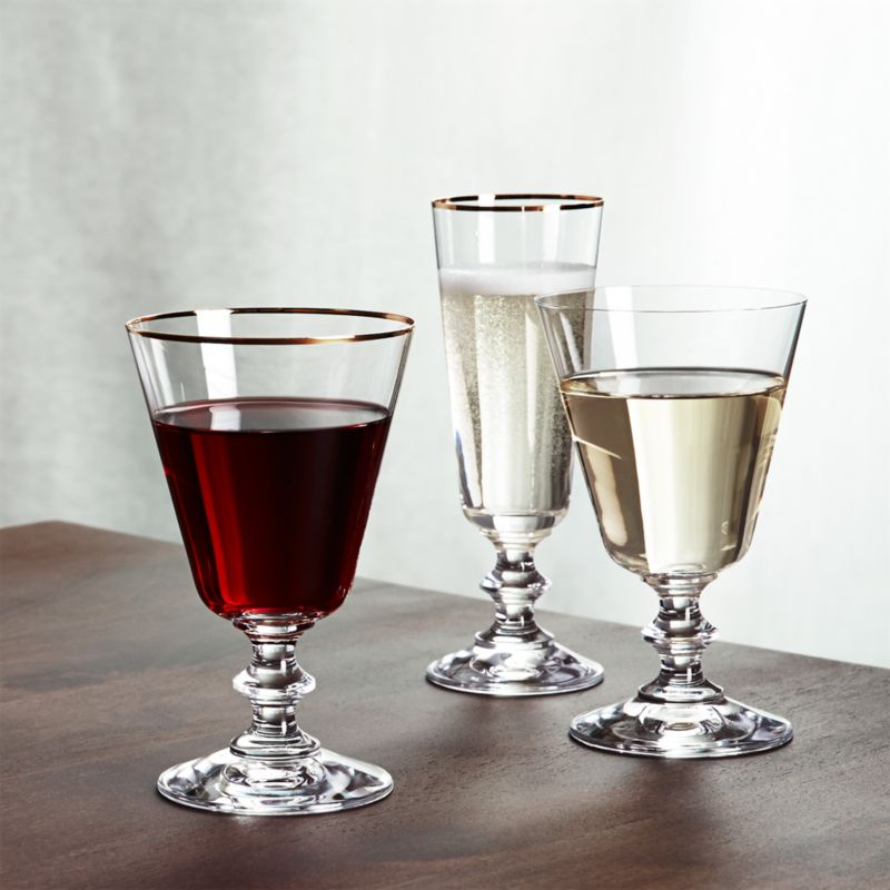 French Wine Glasses Crate And Barrel