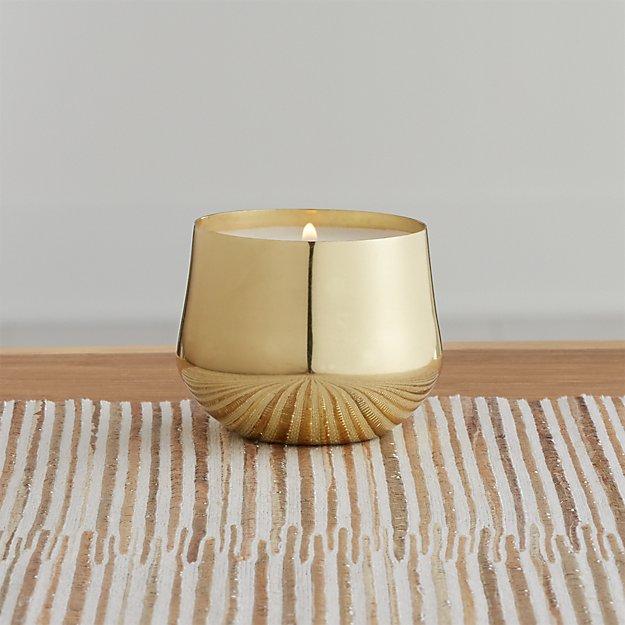 Fresh Sea Salt Gold Demi Candle - Image 1 of 4