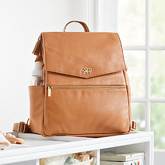 Freshly Picked Butterscotch Brown Diaper Bag