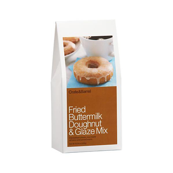 Fried Buttermilk Doughnut with Glaze Mix
